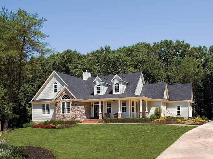 eplans country house plan enchanting country home 2078 square feet and 3 bedrooms from eplans house plan code i like the exterior the pictures of - Plans For Country Homes
