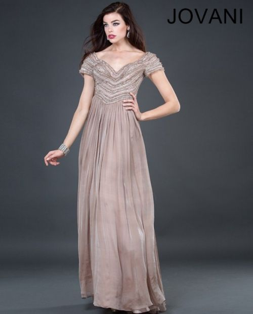Simple, Yet Elegant Mother Of The Bride Winter Dress 2013