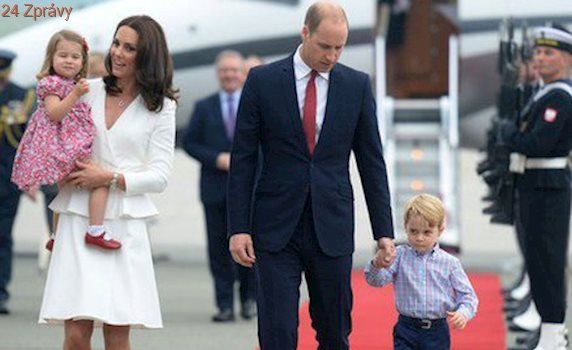 Vévodkyně Kate v Polsku: Nejsem krásná, je to jenom make-up