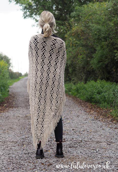 Lululoves: Courtship Shawl Crochet Pattern