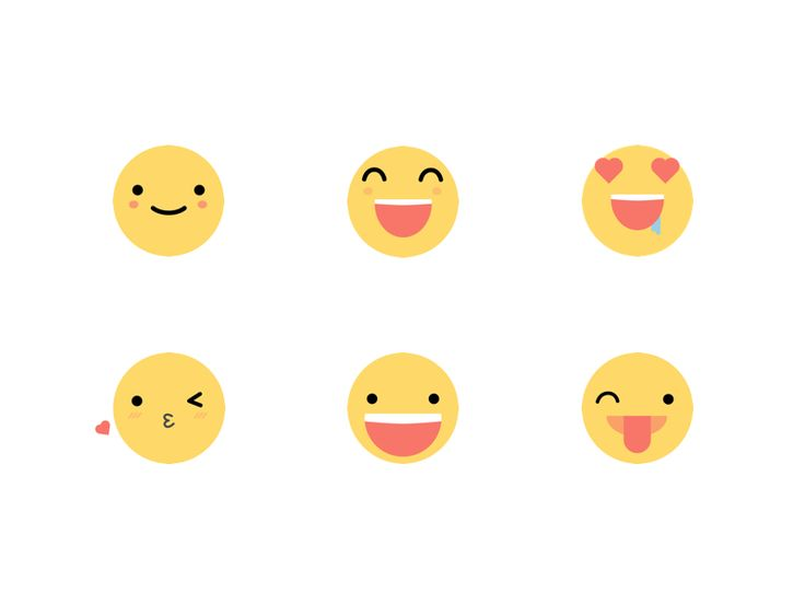 Emoji Happy Face collection