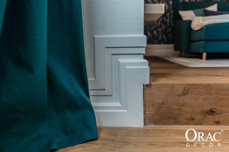 Plinten van Orac Decor, een must voor elk type interieur! www.discoveringdecor.be