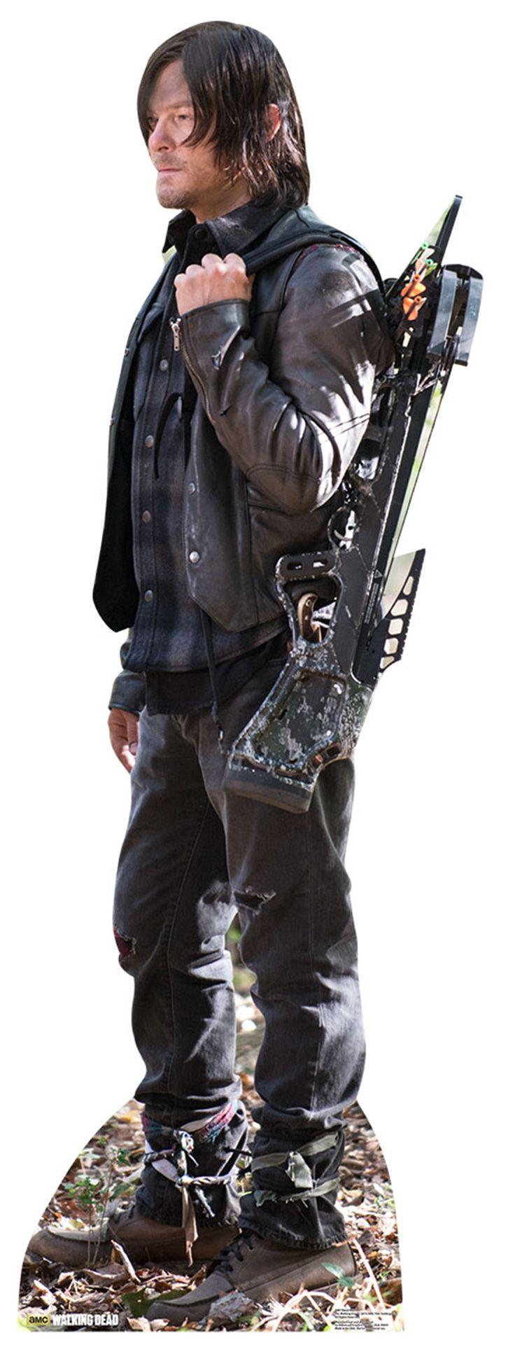 Mcfarlane walking dead series 6 daryl dixon action figure - Daryl Dixon The Walking Dead Cardboard Cutout Standup Standee