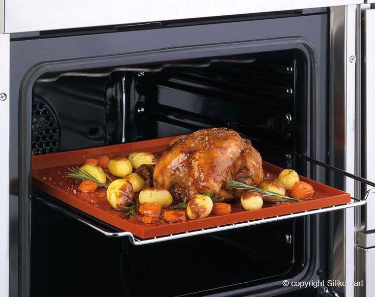 Všetko pre modernú domácnosť | homedesignsk.sk - Silikónová podložka-plech na pečenie Crispy