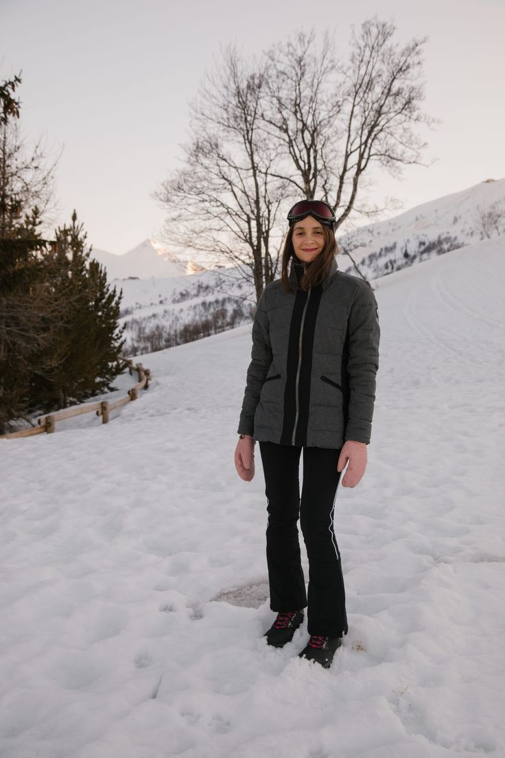 Les Vacances Au Ski Avec Lougage Vacances Ski Combinaison Ski