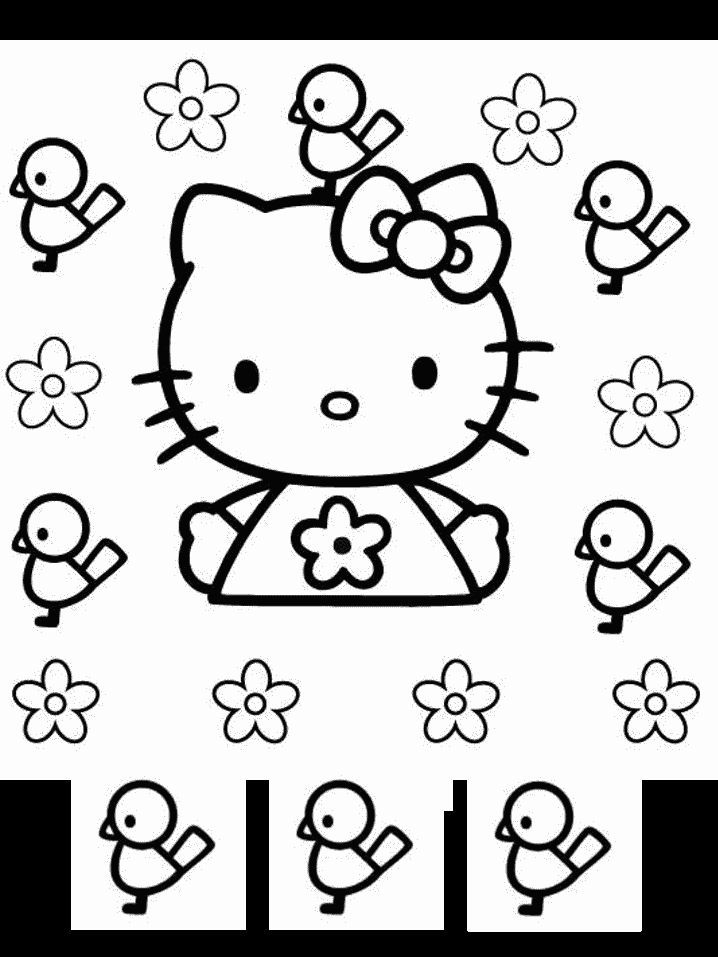 Hello Kitty Coloring Pages With Crayons : Best hello kitty images on pinterest coloring pages