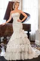 AVAILABLE NOW!!! Designer wedding dresses which designed by Australian designer team. style 6038