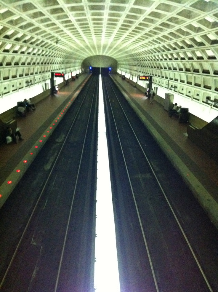 Washington Dc Road Map With Metro Stations%0A Ballston metro station  Washington  DC  Joe Cruz photo