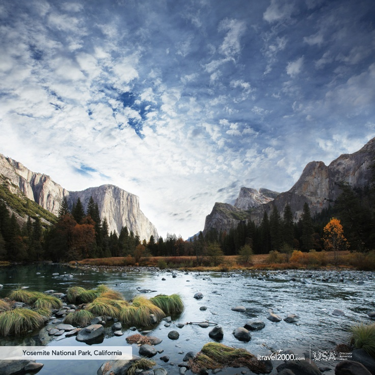 Yosemite National Park, California #itravel2000 #DiscoverAmerica