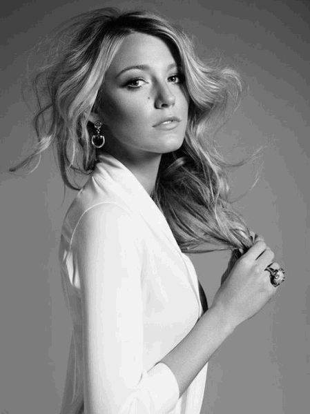 Blake Lively- she is gorgeous...enough said.