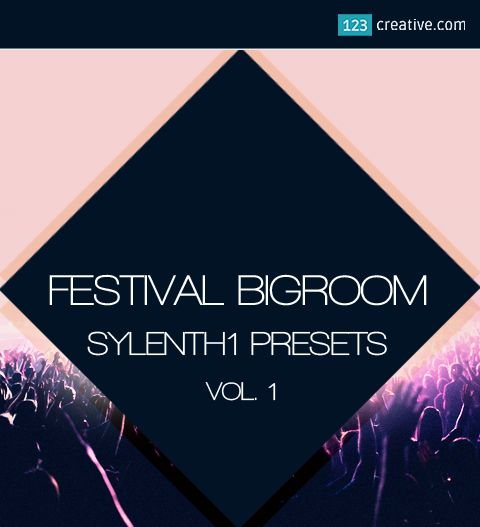 ►  Festival Big Room House Sylenth1 presets Vol.1 for all producers of EDM, Electro House, Big Room House, Complextro, Hardstyle. Sound bank inspired by music of producers such as Hardwell, Blasterjaxx, W&W, Martin Garrix, Afrojack: https://www.123creative.com/electronic-music-production-sylenth1-presets/1481-festival-bigroom-house-sylenth1-presets-vol1.html