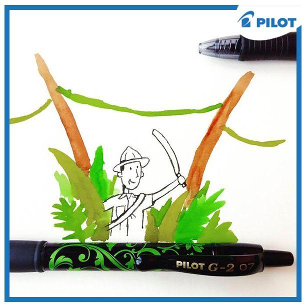 Ten správný dobrodružný víkend zažijete (nejen) na papíře s pery Pilot! :) #happywriting