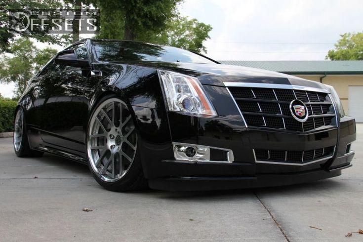 "Custom Cadillac CTS | ... Cadillac Cts Coupe Nearly Flush Dropped 3"" Custom Rims Custom Rims"