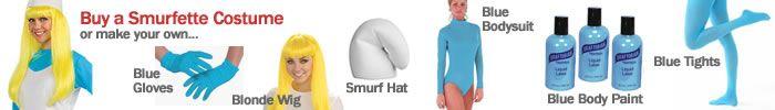 How to Dress Up as a Smurf or Smurfette / Make a Smurf Costume for Halloween - BlueBuddies.com