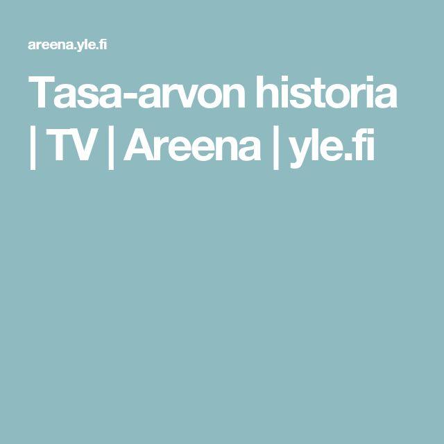 Tasa-arvon historia   TV   Areena   yle.fi
