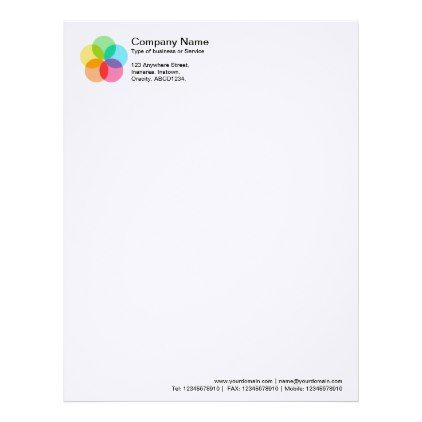 The 25+ best Professional letterhead template ideas on Pinterest - letterhead format word