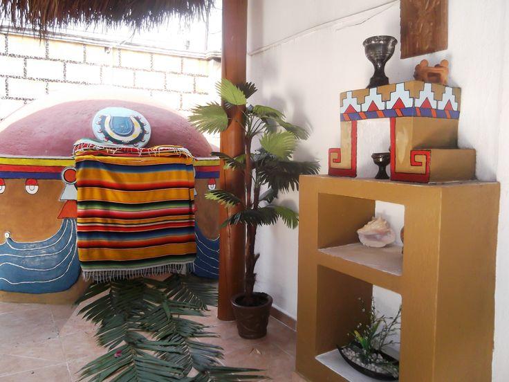 Temazcal Metztli en Finca Chipitlán. Un deleite para los sentidos.