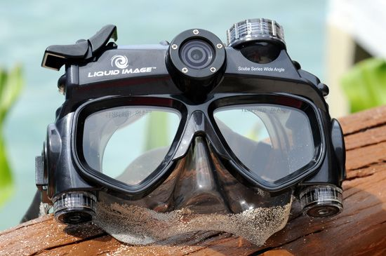 К погружению готов! Подводная маска с встроенной камерой, теперь все обитатели морских пучин в HD качестве.  #LiquidImage