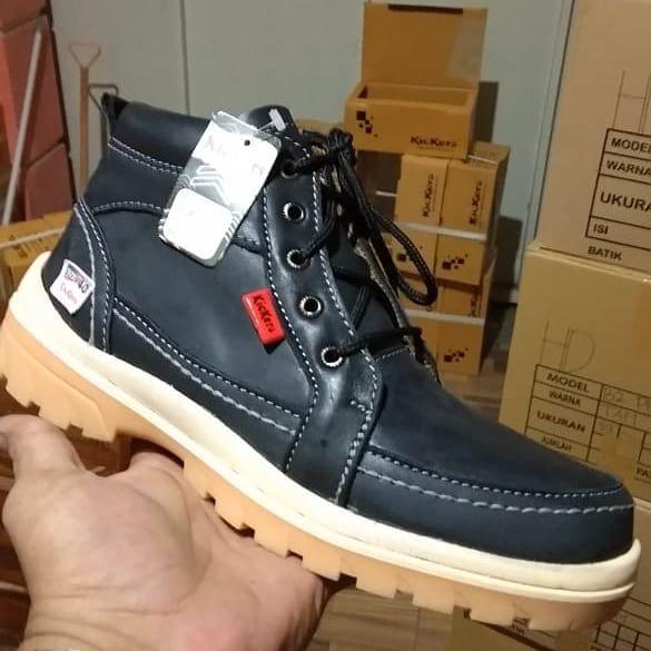 Kickers Boots Hitam Size Ready 39 40 41 42 43 Idr 160 000
