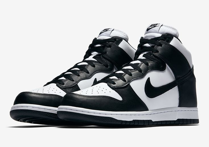 #sneakers #news Nike Dunk High Retro In Classic Black And White