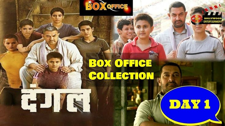 Dangal Day 1 Box Office Collection