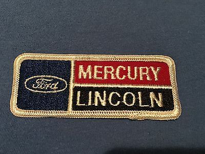 #Vintage ford lincoln mercury dealership uniform #patch mustang #thunderbird f150,  View more on the LINK: 	http://www.zeppy.io/product/gb/2/191867700529/