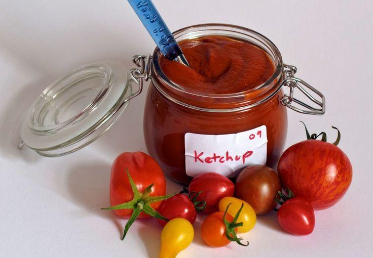 Ketchup készítése házilag!-Semmilyen vegyszert nem tartalmaz.