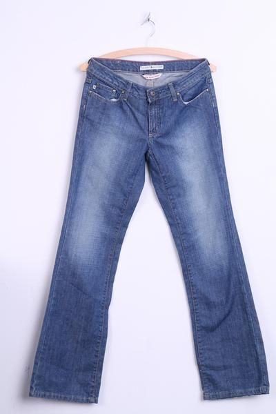 Tommy Hilfiger Womens 2R Jeans Trousers Low Rise Boot Cotton - RetrospectClothes