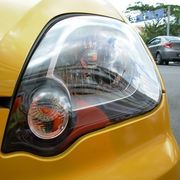 Headlights are designed to be crisp and clear, providing the best possible brightness on the road. Over time, normal road wear and tear will discolor plastic headlight covers with a dull yellow or grayish film, leaving the headlights looking unclean, and emitting light at a lower level. To clean the headlight covers properly, you can use a few...