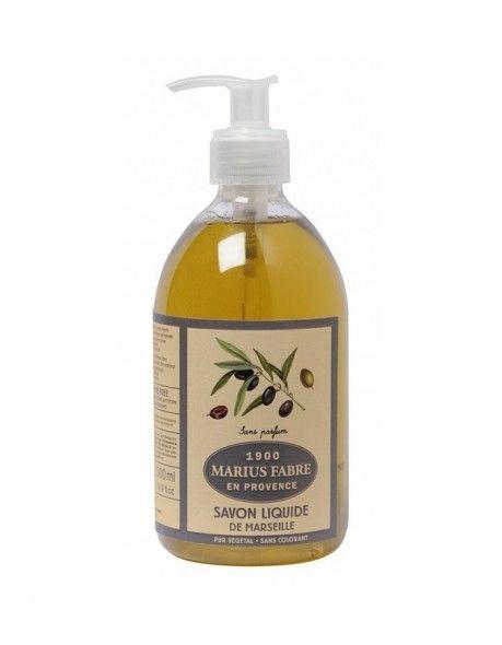 Fabriqué à base d' huile d'olive , reconnue pour ses vertus nourrissantes, et d' huile de coprah , appréciée pour ses propriétés moussantes, notre savon liquide  sans parfum  est cuit au chaudron, selon la méthode traditionnelle marseillaise.    Très pratique pour se laver les mains et très doux pour la peau, il s'utilise également au quotidien pour la toilette du corps et du visage, sous la douche ou dans le bain.   Pensez ensuite à la recharge d'1 litre, écologique et économique…