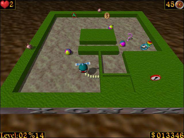 العاب مجانية لك تحميل لعبه المروحه الشقيه Airxonix كامله بمساحه صغ Games Tetris