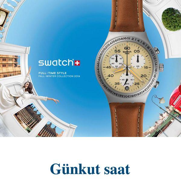 Yeni sezon Swatch koleksiyonun Classic modelleri,  klasik bir stil anlayışı ve çekici bir kendine güvenle, içinizdeki olgunluğu dışa vurmanız için varlar.   http://www.gunkutsaat.com/catinfo.asp?src=SWATCH+2014+YAZ+KOLEKS%DDYONU&imageField2.x=25&imageField2.y=8