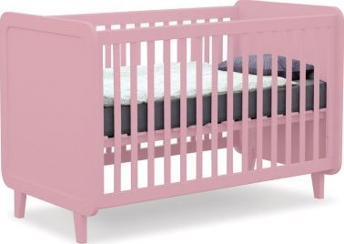 Laurette Kiss Curl Convertible Bed 70x140 cm - Vintage Color: Old pink Age: 0 to 5 years old Hand painted, mat varnish Composition: beech Dimensions: L 146 x P 82 x 95,5 cm Convertible bed Dimensions of the mattress: 70 x 140 cm mattress not-included Base http://www.comparestoreprices.co.uk/january-2017-7/laurette-kiss-curl-convertible-bed-70x140-cm--vintage.asp