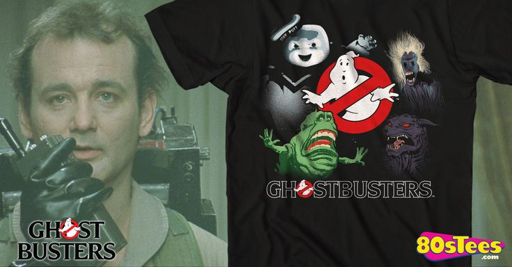 Ghostbusters Supernatural T-Shirt made by Mad Engine in collections: 80s Movies: Ghostbusters, & Department: Mens, & Color: Black