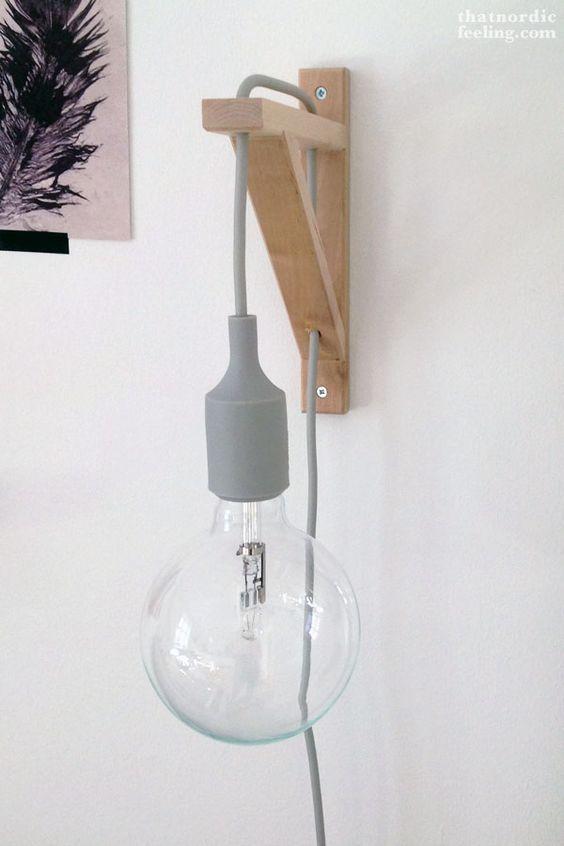 Ilumina y decora tus ambientes de estilo nórdico con lámparas bombilla