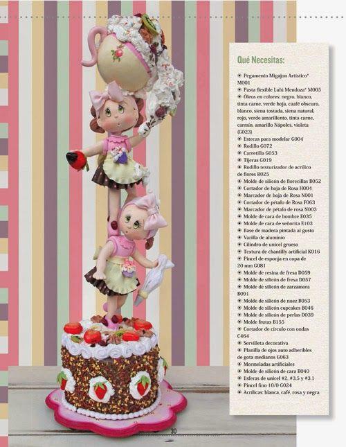 Pasta Flexible Lulu Mendoza: Edición No. 5, Muñecas de Primavera