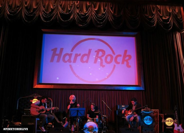 Alesya @ Live Hard Rock Café Firenze 09.10.13 Pinktober Live