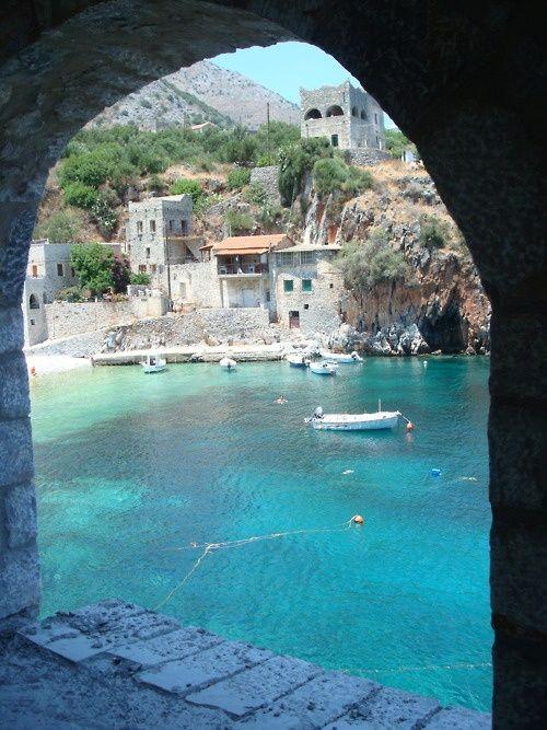 Turquoise Water, Nifi, Greece.