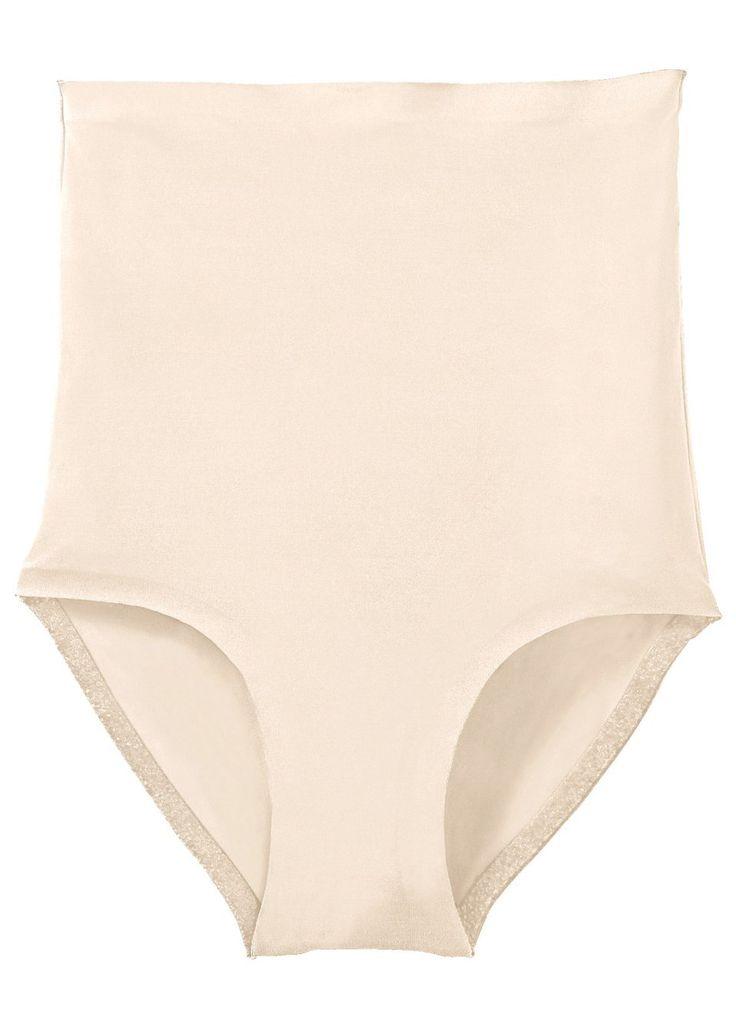 Bezešvé kalhotky s vysokým pasem od Nice Size. Kalhotky lehce modelují bříško a zadeček a starají se tak o štíhlejší siluetu. Bezešvé zpracování v pase a nohavičkách, neproznačí se pod oblečením, extra vysoký pas. Bavlněný klín. Vrchový materiál: 78% polyamid, 19% elastan, 3% bavlna