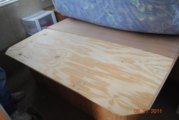 Extending A Short Queen W Pics Camper Beds Bed