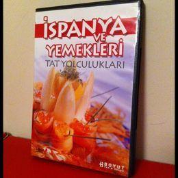 İspanya Yemekleri DVD (İkinci El)
