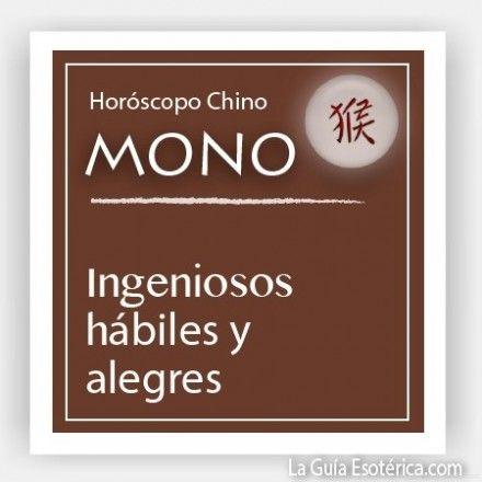 Horóscopo Chino Mono (Pulsa en la imagen para ver lo que te depara el 2014)