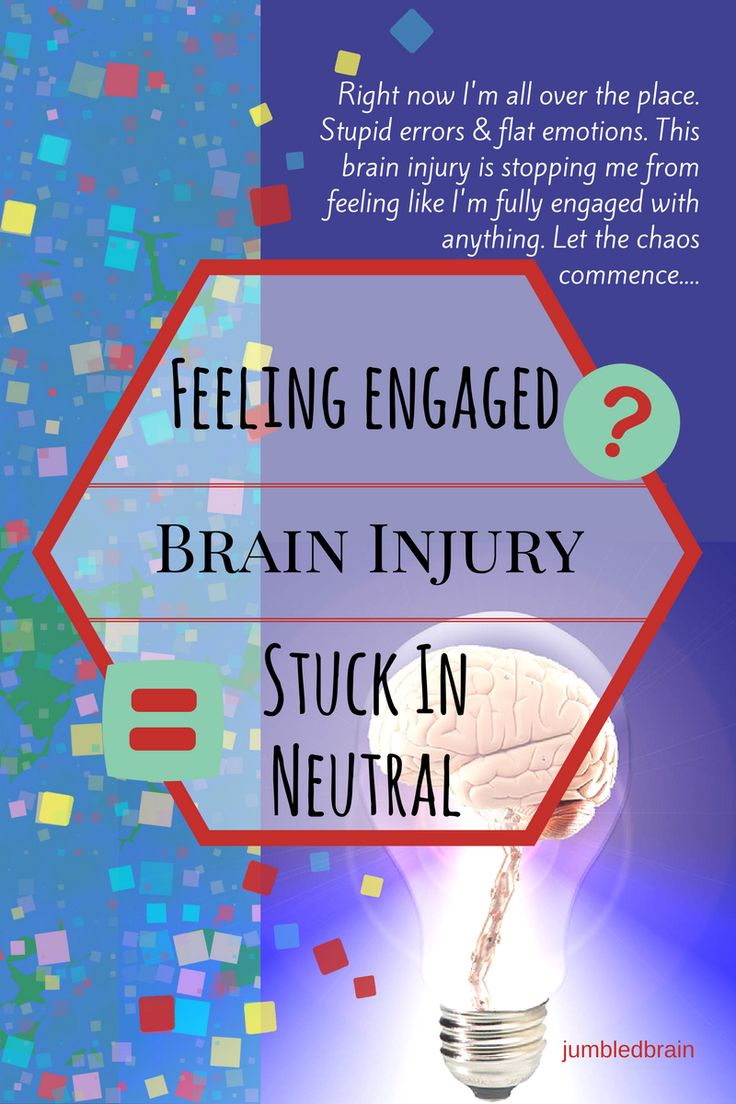 Feeling engaged? Brain injury = stuck in neutral. https://www.jumbledbrain.com/2017/07/13/engaged-brain-injury-stuck/