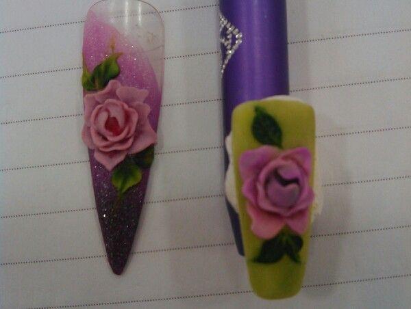 3d flowers acrylic