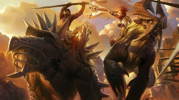 golden axe beast rider free 1920x1080