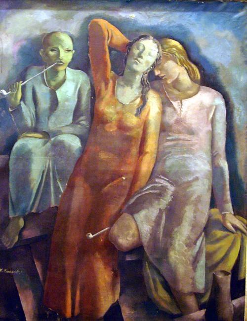 Wacław Borowski (Polish, 1885-1954) -  Narcotic, 1939