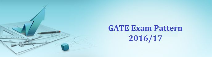 GATE Exam Pattern 2016-17