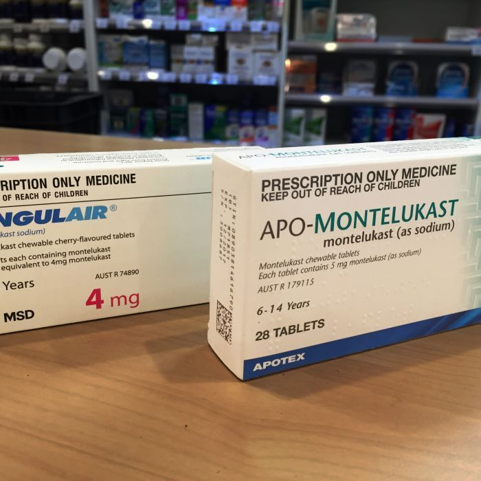 Singulair, Montelukast: Asthma medication linked to serious psychotic episodes in children - ABC News (The 4 As, asthma, allergies, ADHD and autism, now impact 1 in 3 children in the U.S.)  http://www.abc.net.au/news/2016-09-05/asthma-tablet-linked-to-serious-psychotic-episodes-in-children/7795474