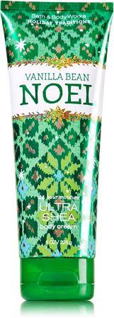 Vanilla Bean Noel 24 Hour Moisture Ultra Shea Body Cream - Signature Collection - Bath & Body Works