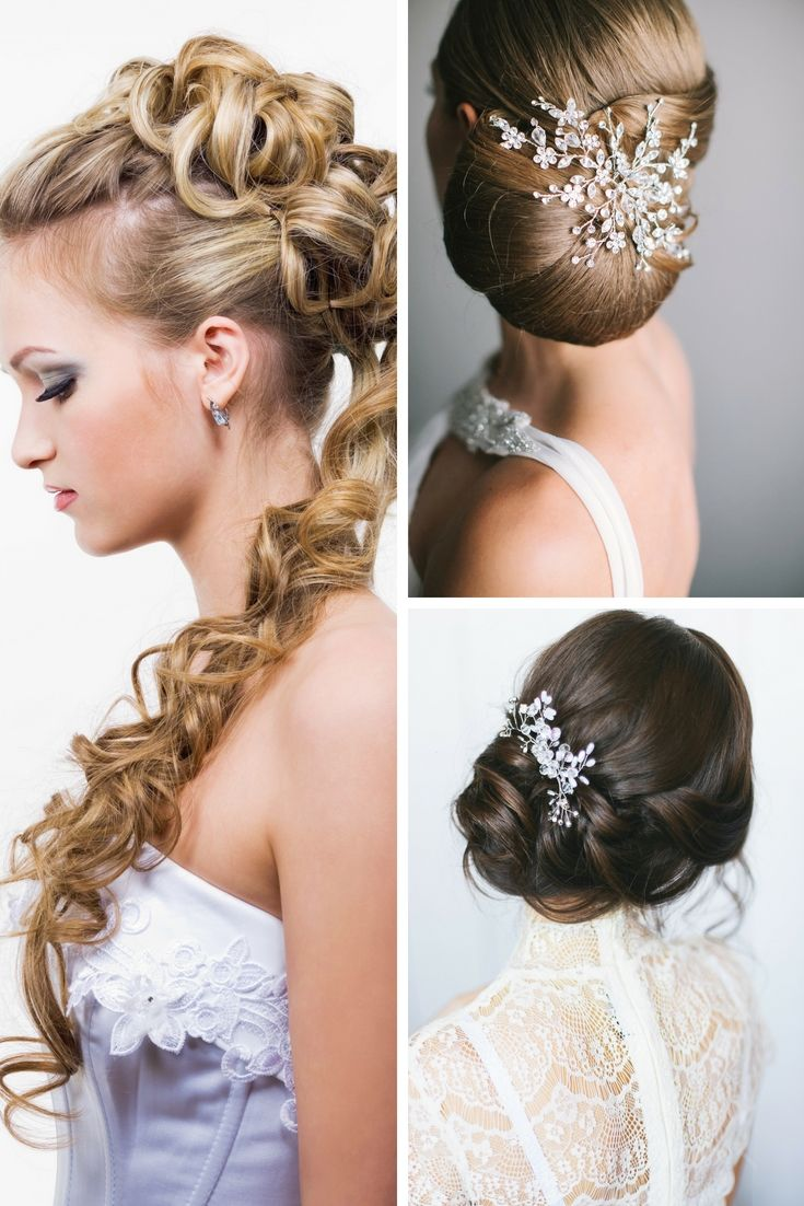 beautiful wedding hairstyle gallery. still exploring for the